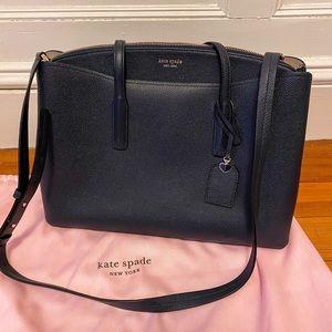 margaux large satchel *never before used*
